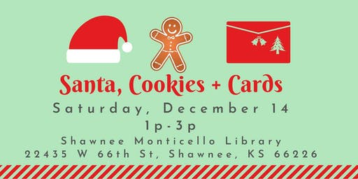 Free Community Event - Santa, Cookies & Cards