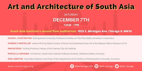 Art and Architecture of South Asia tickets