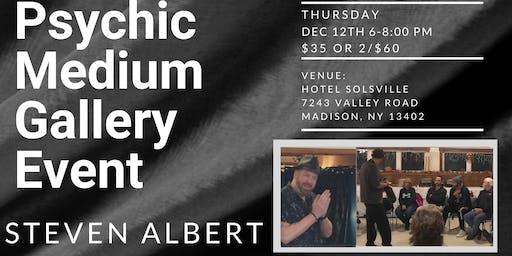 Steven Albert: Psychic Gallery Event - Hotel Solsville
