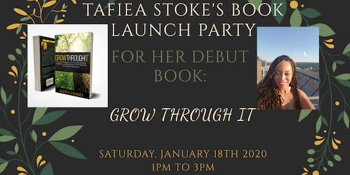 Tafiea Stokes Book Launch Party