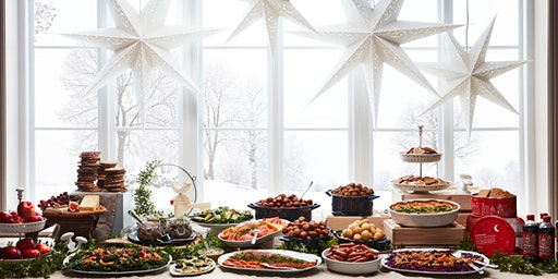 Swedish Christmas Julbord Buffet