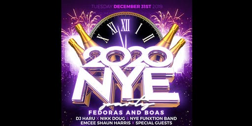 Chicago Bar's NYE Fedoras and Boas Party