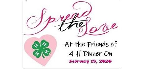 Clinton County Friends of 4-H Dinner tickets