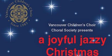 A joyful, jazzy Christmas tickets