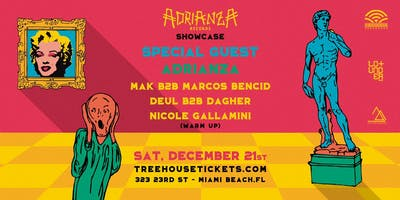 Adrianza Records Showcase @ Treehouse Miami