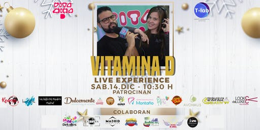 Vitamina D - Live Experience Navidad