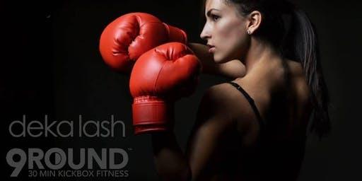 Deka Lash @ 9Round: Boxing Beauties Event