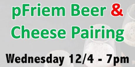 pFriem Beer and Cheese Pairing tickets