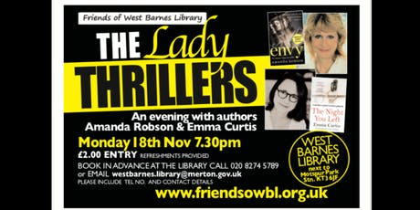 The Lady Thrillers - Author talk tickets