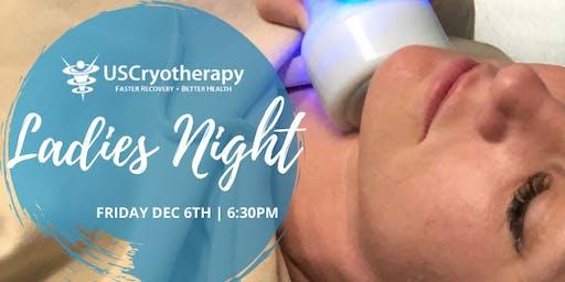 Recovery & Cryoskin Ladies Night