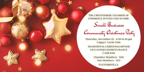 Small Business Community Christmas Party tickets
