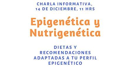 Charla sobre genética y alimentación entradas