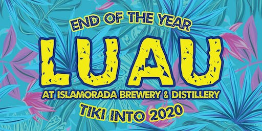 End of the Year Luau at Islamorada Brewery & Distillery