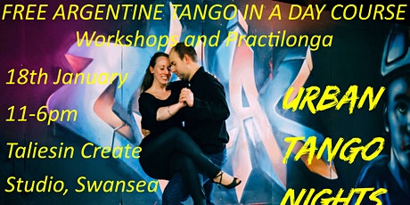 Free Argentine Tango in a Day Course: Workshops and Practilonga 6 tickets