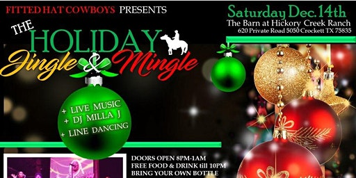 Fitted Hat Cowboys Presents | The Jingle Mingle Holiday Party