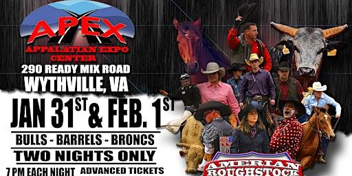 Wytheville VA  Professional Bulls Broncs and Barrels