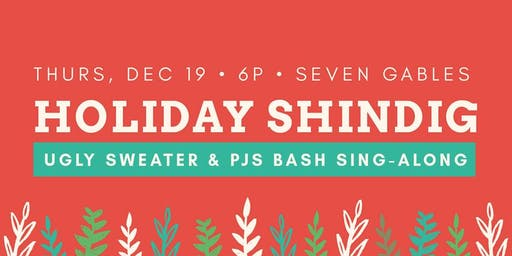Ugly Sweater & PJs Bash Sing Along