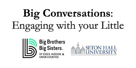 Big Conversations: Engaging with your Little tickets
