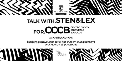 Talk with STEN & LEX | CCCB Bauladu