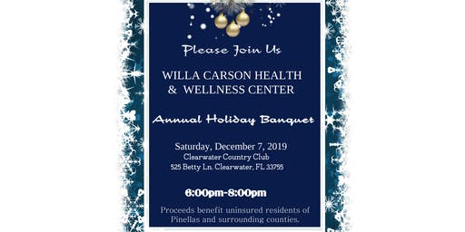 Willa Carson Health Center Annual Holiday Banquet