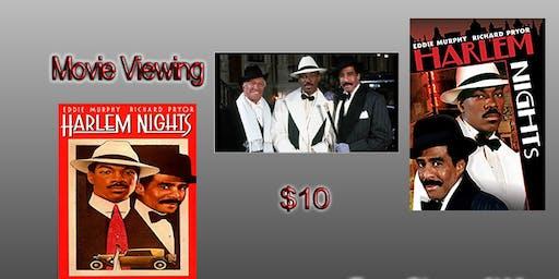 Movie Night Showing Harlem Nights