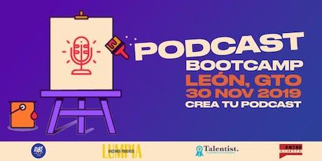 PODCAST BOOTCAMP | Crea Tu Podcast entradas