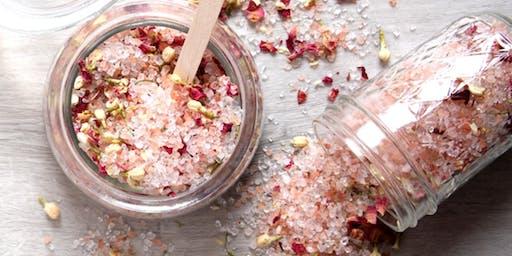 Bath Salts Make & Take