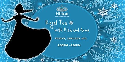 Royal Tea with Elsa and Anna