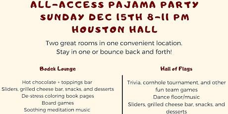 GAPSA All-Access Pajama Party tickets