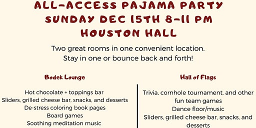 GAPSA All-Access Pajama Party
