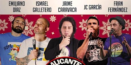 Alicante Comedy Club   Navidades tickets