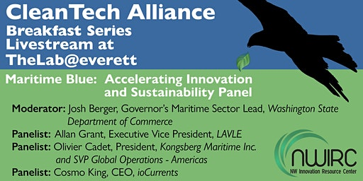 CleanTech@TheLab: Maritime Blue: Accelerating Innovation &  Sustainability