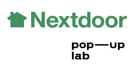 Nextdoor x Pop-up Lab billets