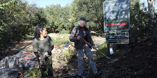 Habitat Enhancement at Steelhead Park along the L.A. River!