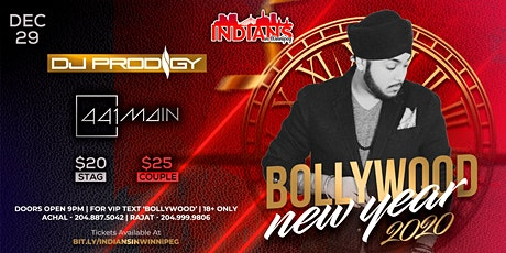 Bollywood New Year Bash tickets