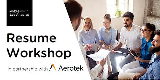 FREE Resume Workshop - with Aerotek Staffing & Recruiting