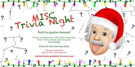 End of Semester Trivia Night tickets
