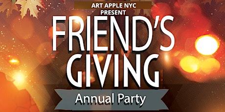 ART APPLE NYC Presents FRIENDSGIVING tickets