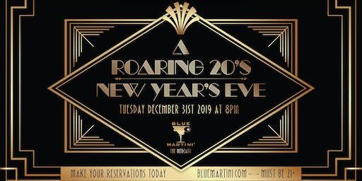 Roaring 20's New Year's Eve at Blue Martini Naples