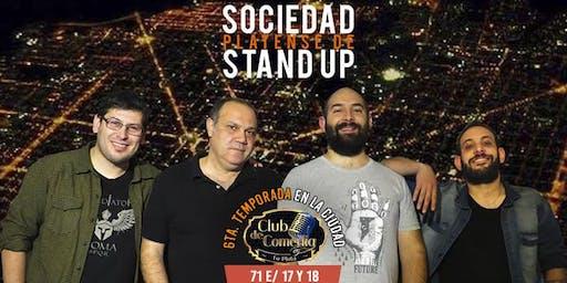 Sociedad Platense de Stand Up en Club de Comedia La Plata
