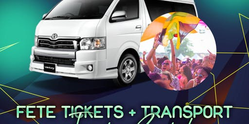 Transportation for Jamaica Carnival 2020|Fete Transport + Tickets available