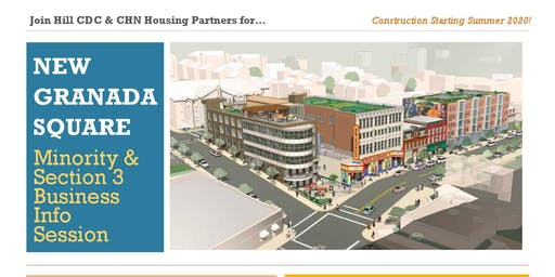 New Granada Square MWBE and Section 3 Info Session