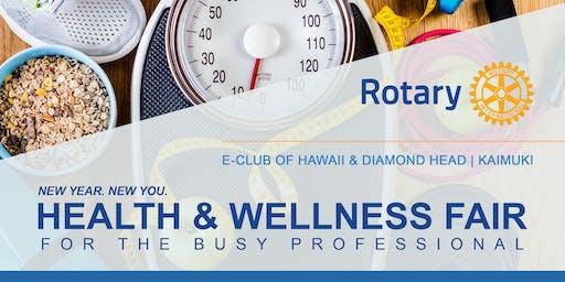 Health & Wellness Fair for the Busy Professional