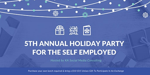 5th Annual Holiday Lunch for the Self Employed