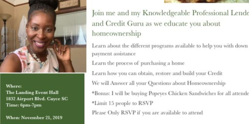 Homeownership and Popeyes Seminar