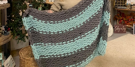 Make Your Own Chunky Blanket Class