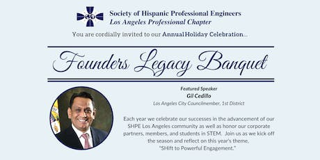 SHPE LA Founders Legacy Banquet tickets