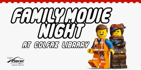 Family Movie Night @ the Colfax Library tickets