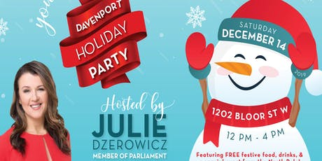 Save the Date: Davenport Holiday Party tickets