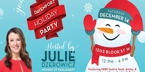 Save the Date: Davenport Holiday Party